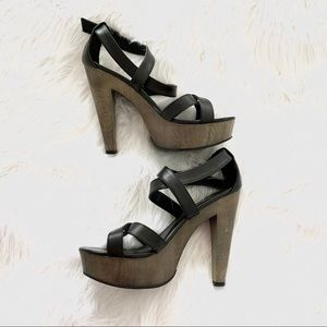 Chunky Strappy Heels Mossimo Supply Co